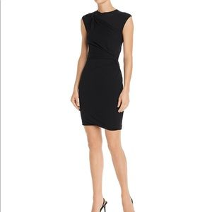 NEWAlexanderwang.t Twisted Crepe Jersey Mini Dress